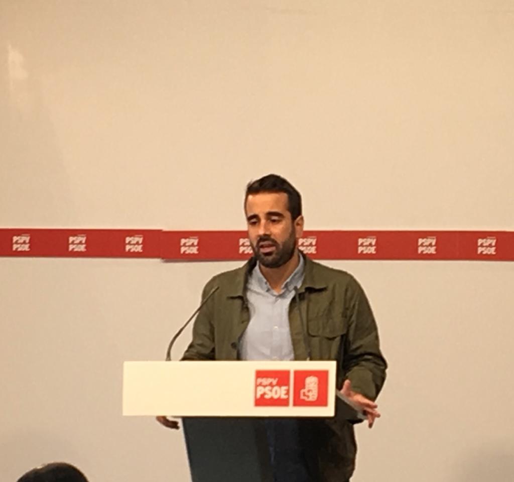"""Muñoz: """"Para conseguir un gran pacto estable y duradero, la gran protagonista tiene que ser la sociedad valenciana"""""""