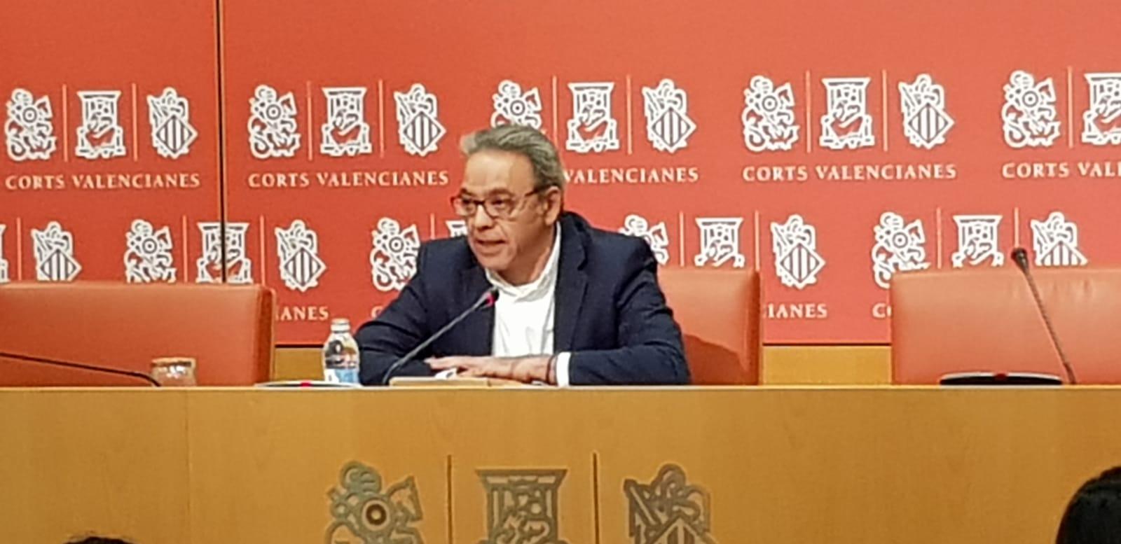 """En este momento estás viendo Mata: """"El único camino que sigue Isabel Bonig y el PPCV es alinearse con Madrid y hacer partidismo con el debate de la financiación"""""""