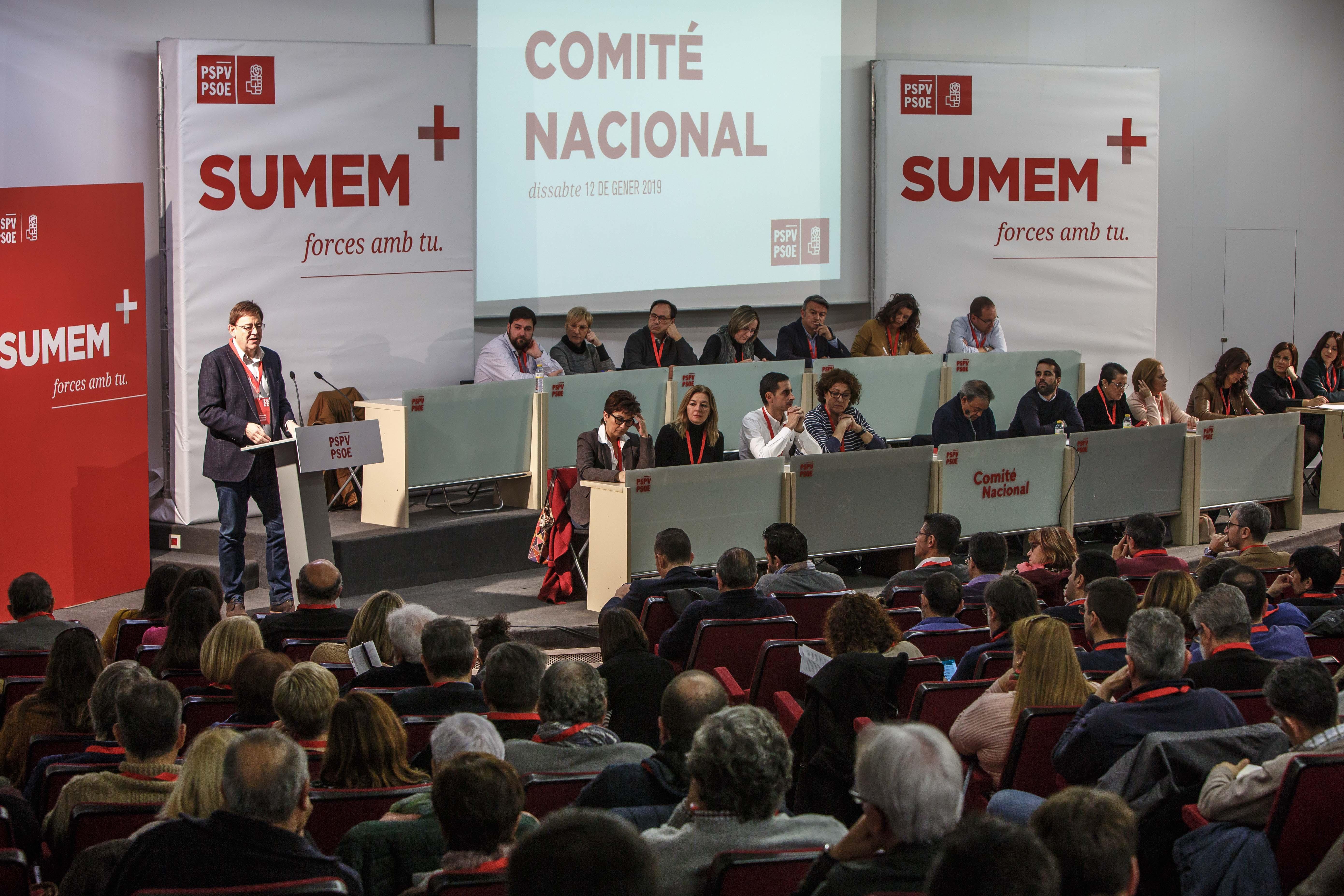 """Ximo Puig: """"Ací el canvi som nosaltres. No volem tornar d'on eixim fugint de la corrupció, de la desigualtat i del balafiament"""""""