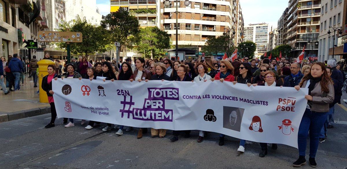 """You are currently viewing Rosa Peris: """"Estem aquí per dir que no hi ha cabuda als maltractadors que les dones tenim dret a viure en pau i en llibertat"""""""