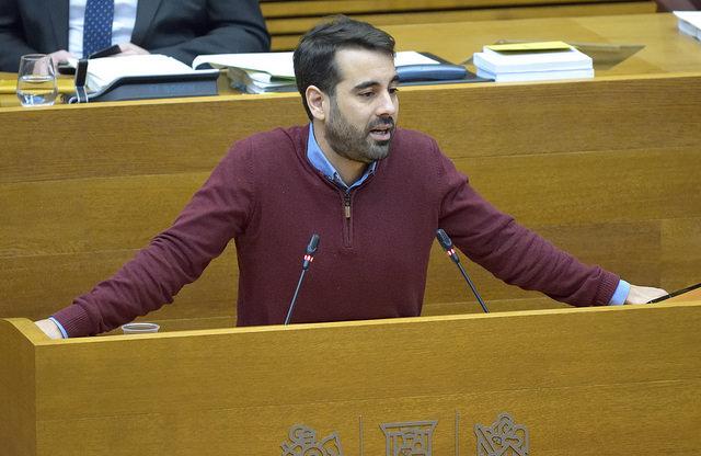 """Jose Muñoz: """"Nou de cada 10 valencians està lliure de pagar l'impost de successions"""""""