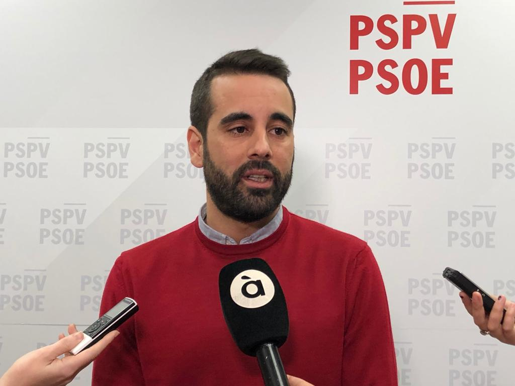 """Muñoz: """"Les paraules del president Pedro Sánchez són un compromís clar amb la Comunitat Valenciana i la reforma del sistema de finançament"""""""