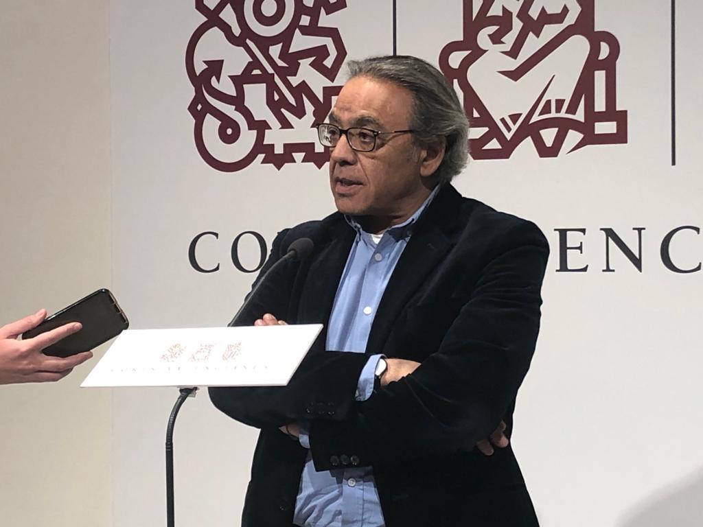 """Manolo Mata: """"Sorprén que García Egea vinga a Alacant a legitimar a Carlos Mazón que representa l'època més corrupta i nefasta del PP"""""""