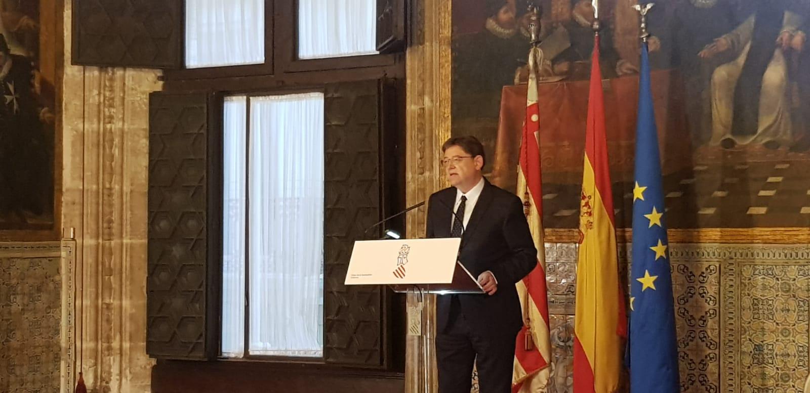 """Ximo Puig: """"Celebrar elecciones el 28 de abril sitúa a la Comunitat en el centro de la política española y nos permite ser visibles"""""""