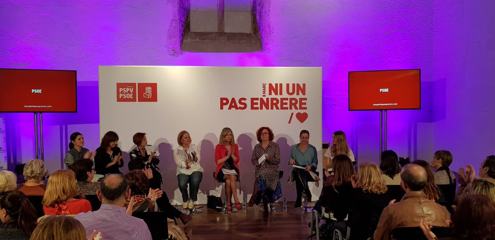 """Peris: """"El 8-M demostrarem que la societat valenciana no està disposada a donar ni un pas arrere"""""""