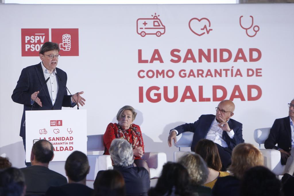 """Ximo Puig: """"Si en los próximos días no hay acuerdo, comenzaremos el proceso de rescate del Área de Salud de La Marina"""""""