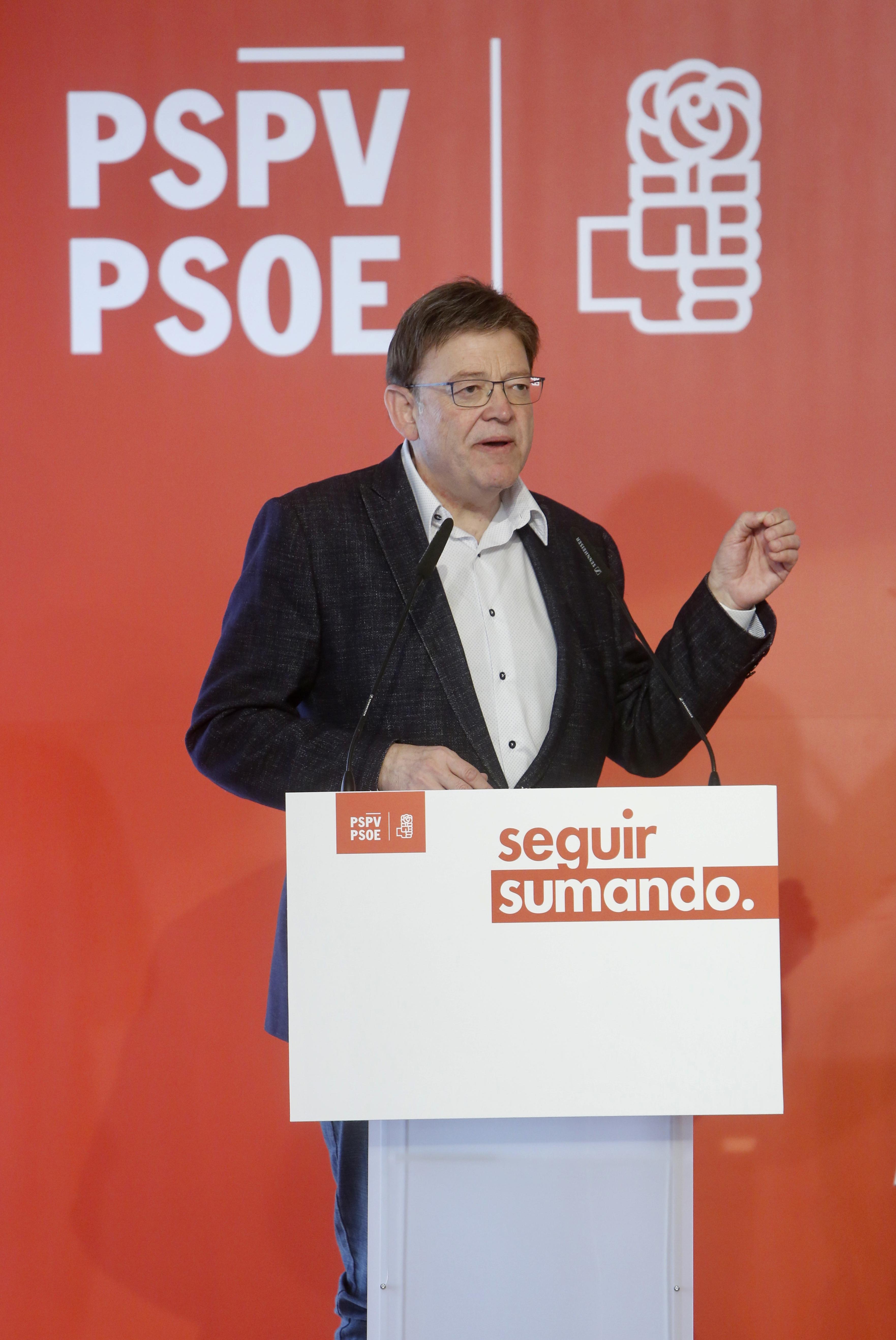 """Ximo Puig anuncia un Pla de Garantia Social i Ocupació Digna """"per a lluitar contra l'explotació laboral i la precarització del treball en la Comunitat"""""""