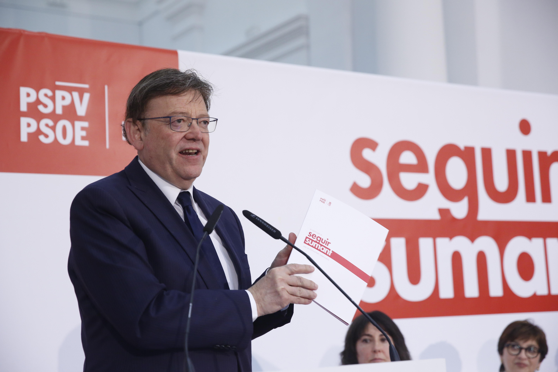 Ximo Puig presenta el programa electoral que contempla una nova estratègia amb 300 milions contra les llistes d'espera sanitàries