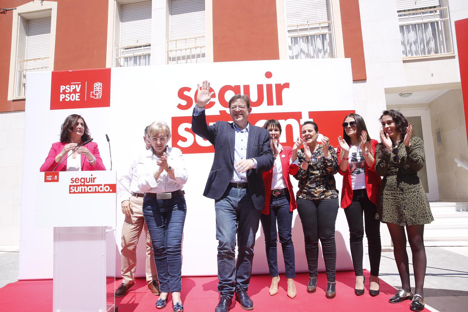 """Ximo Puig: """"Invertirem 100 milions d'euros per a garantir l'aigua de qualitat i millorar la capacitat de producció de l'horta de la Vega Baixa"""""""
