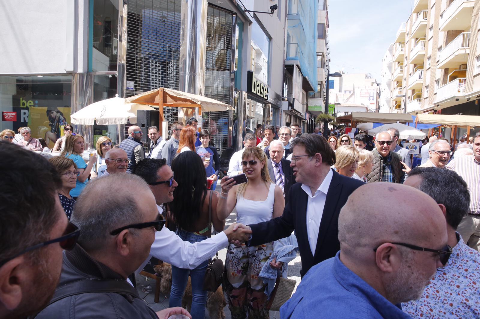 """Ximo Puig: """"El turisme ha d'avançar en innovació, sostenibilitat i la qualitat, i ho farem a partir de la cogestió amb el sector"""""""