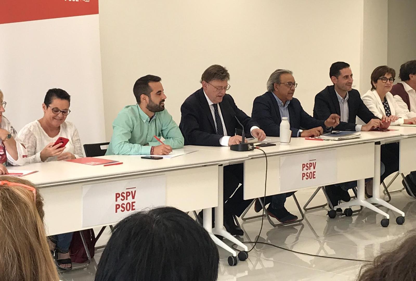 Ximo Puig demana a les forces democràtiques que l'extrema dreta no condicione l'Alcaldia d'Alacant