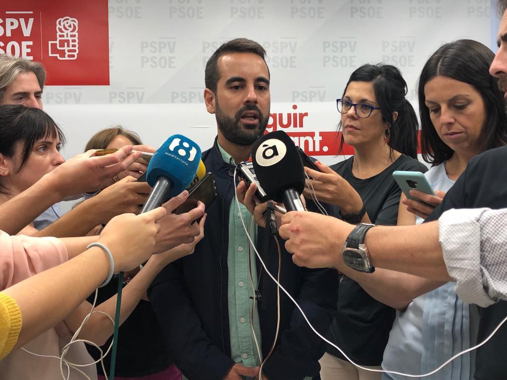 """Jose Muñoz: """"El cicle electoral que va començar el passat 28A consolida al partit socialista com la força més votada en la Comunitat Valenciana"""""""
