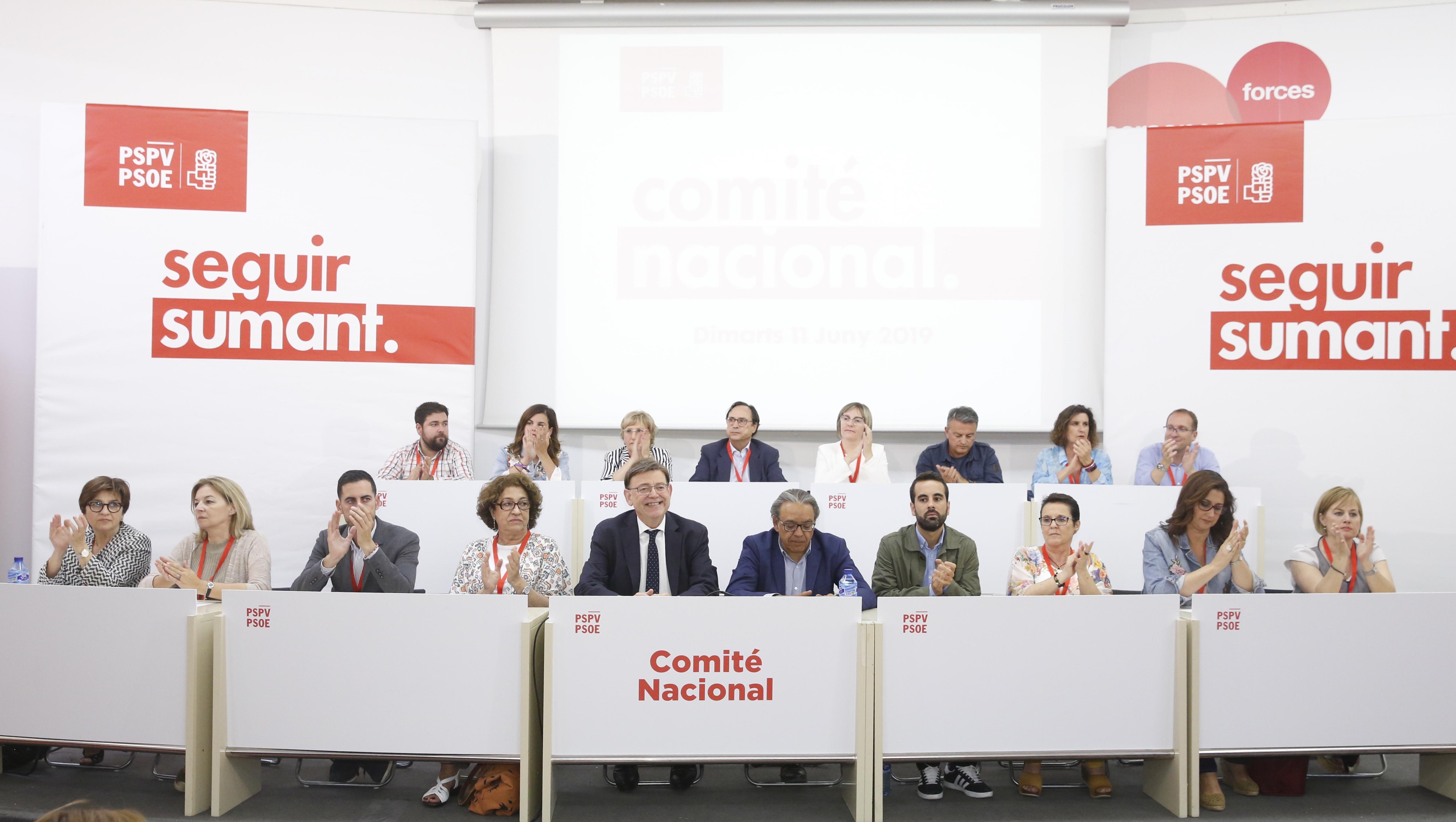 """Ximo Puig: """"La sociedad valenciana tiene una posición claraa favor de un Gobierno de progreso y debemos esforzarnos para que sea posible"""""""