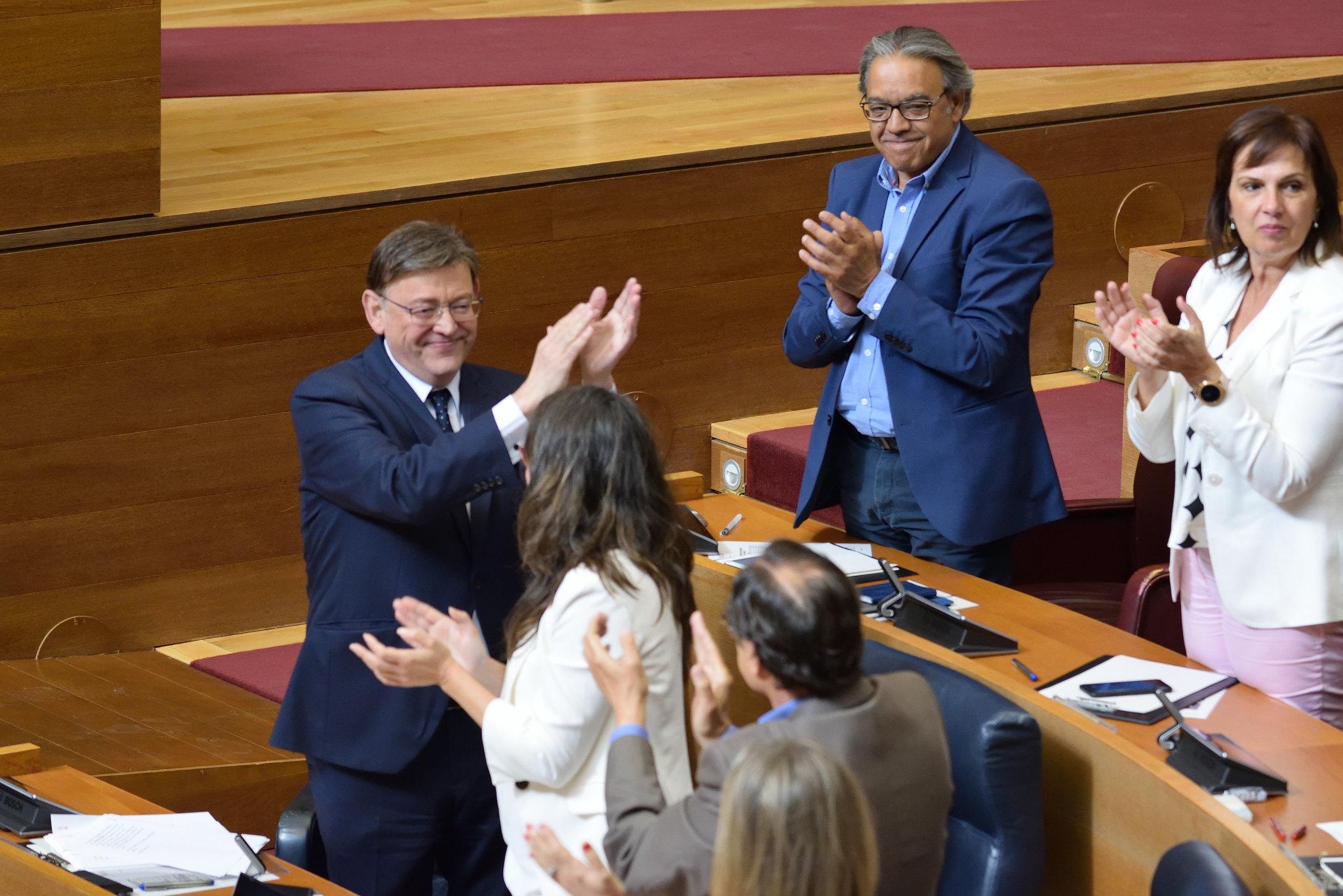 """Ximo Puig: """"Los valencianos nos han otorgado su confianza para que solucionemos conjuntamente los problemas, hagamos buena política"""""""