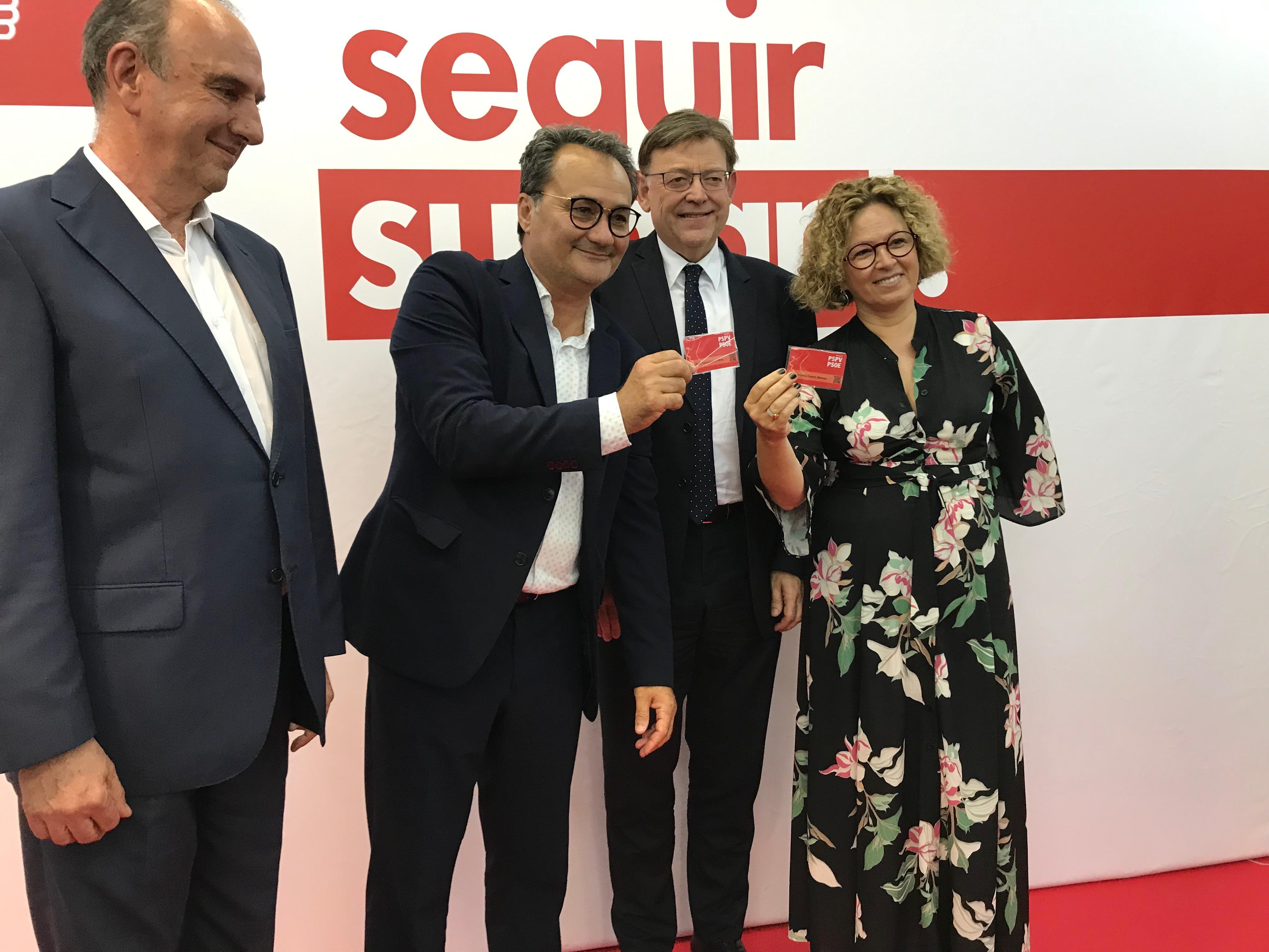 """Ximo Puig: """"Creo en una visión de partido que va más allá de sus fronteras, un partido plural como lo es nuestra sociedad"""""""
