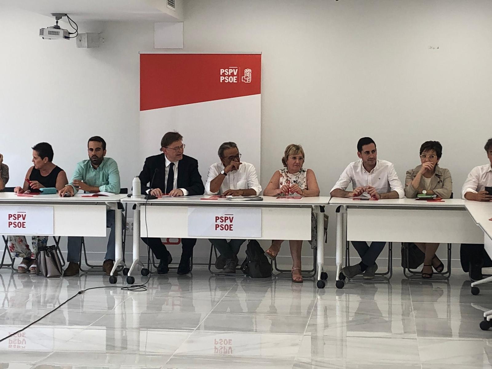 Alejandro Soler i Vicent Sarrià seran, respectivament, el president i el coordinador del comitè parlamentari del PSPV-PSOE