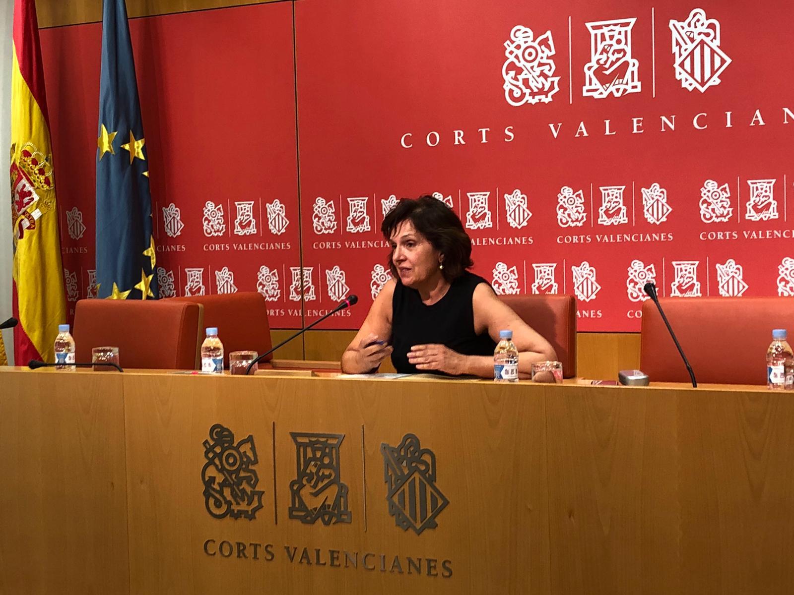 """Carmen Martínez retrau al PPCV la seua """"gran irresponsabilitat encoratjant l'alarmisme en la societat amb un tema tan sensible com el coronavirus"""""""