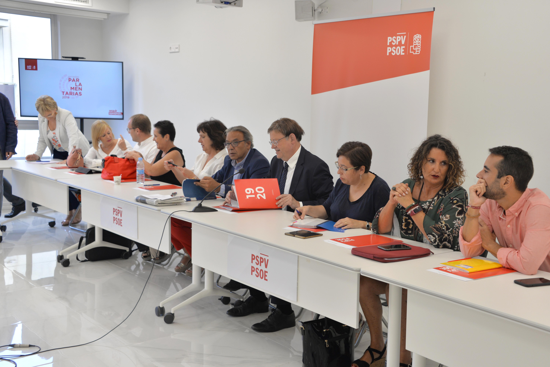 """Ximo Puig: """"El PSPV-PSOE assumeix la responsabilitat i la reivindicació perquè som el primer partit de la Comunitat Valenciana"""""""