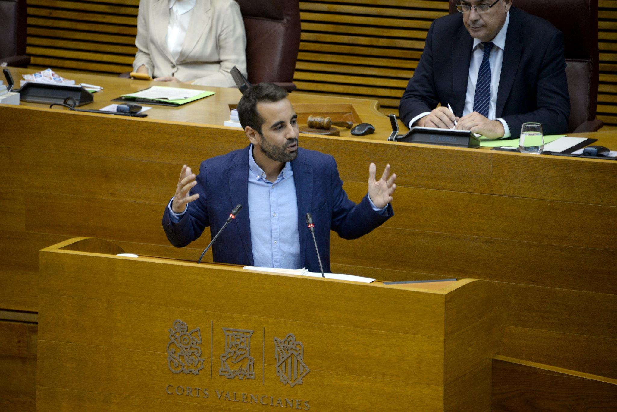 """You are currently viewing Muñoz: """"El PP oblida que el deute que pateix la Comunitat Valenciana deriva de la seua nefasta gestió"""""""