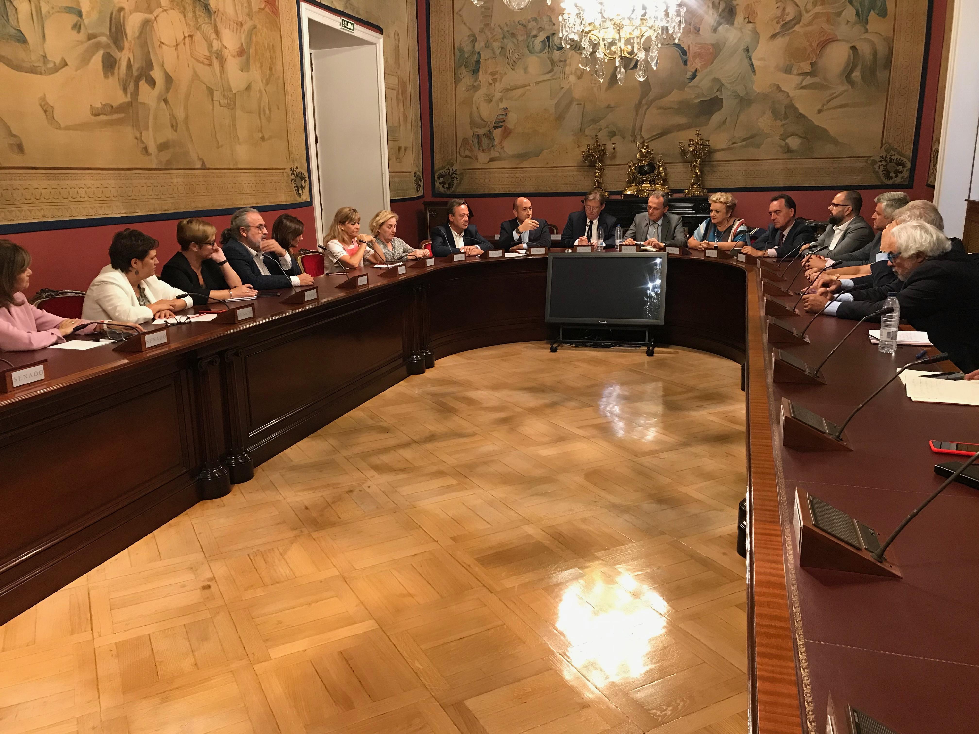 Els socialistes valencians demanen en el Congrés que les províncies danyades per la DANA es declaren zones greument afectades