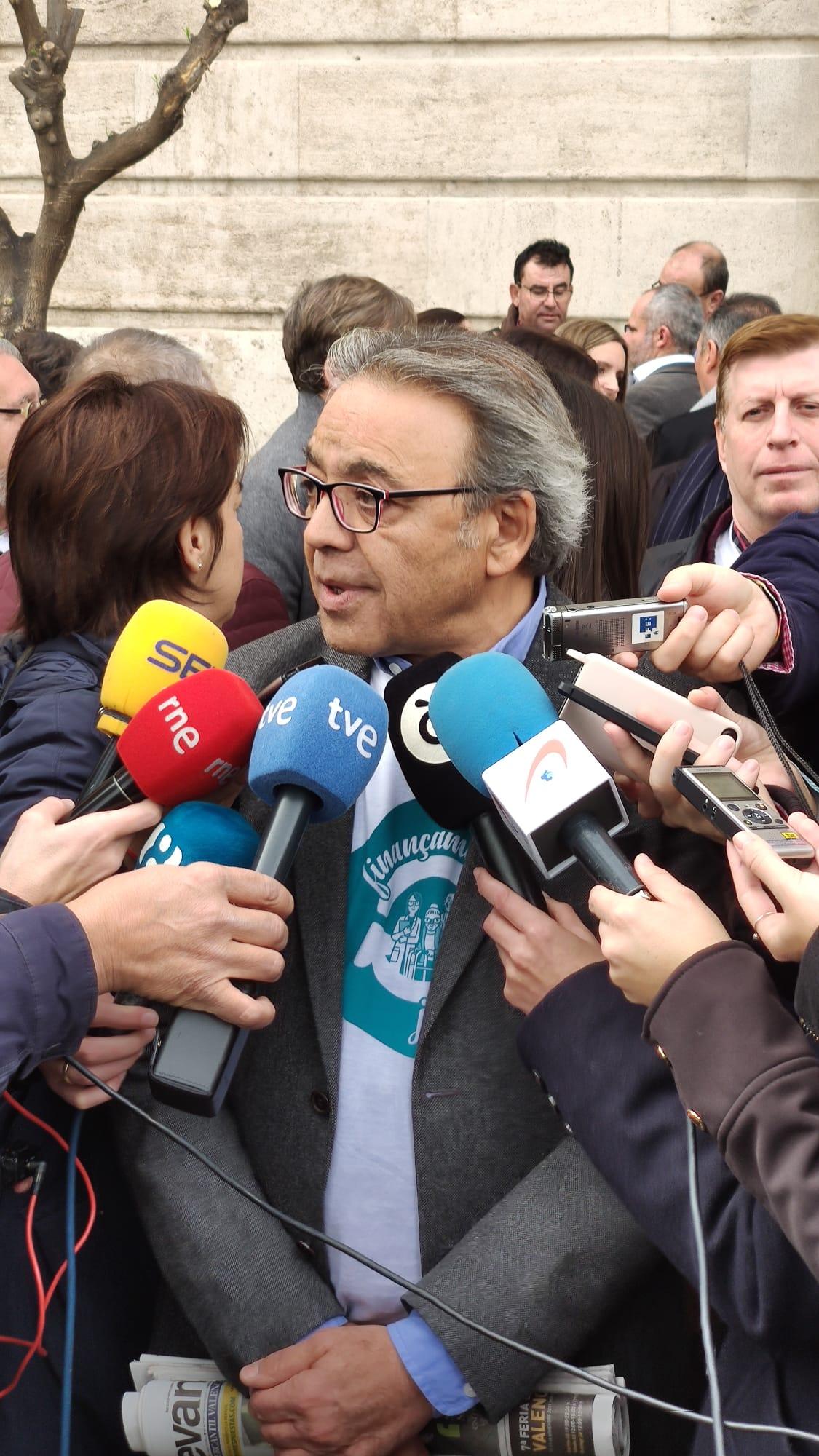 """Mata: """"El president Ximo Puig es una persona honrada y todas las acciones que haga el PP para insultar su nombre van a fracasar"""""""