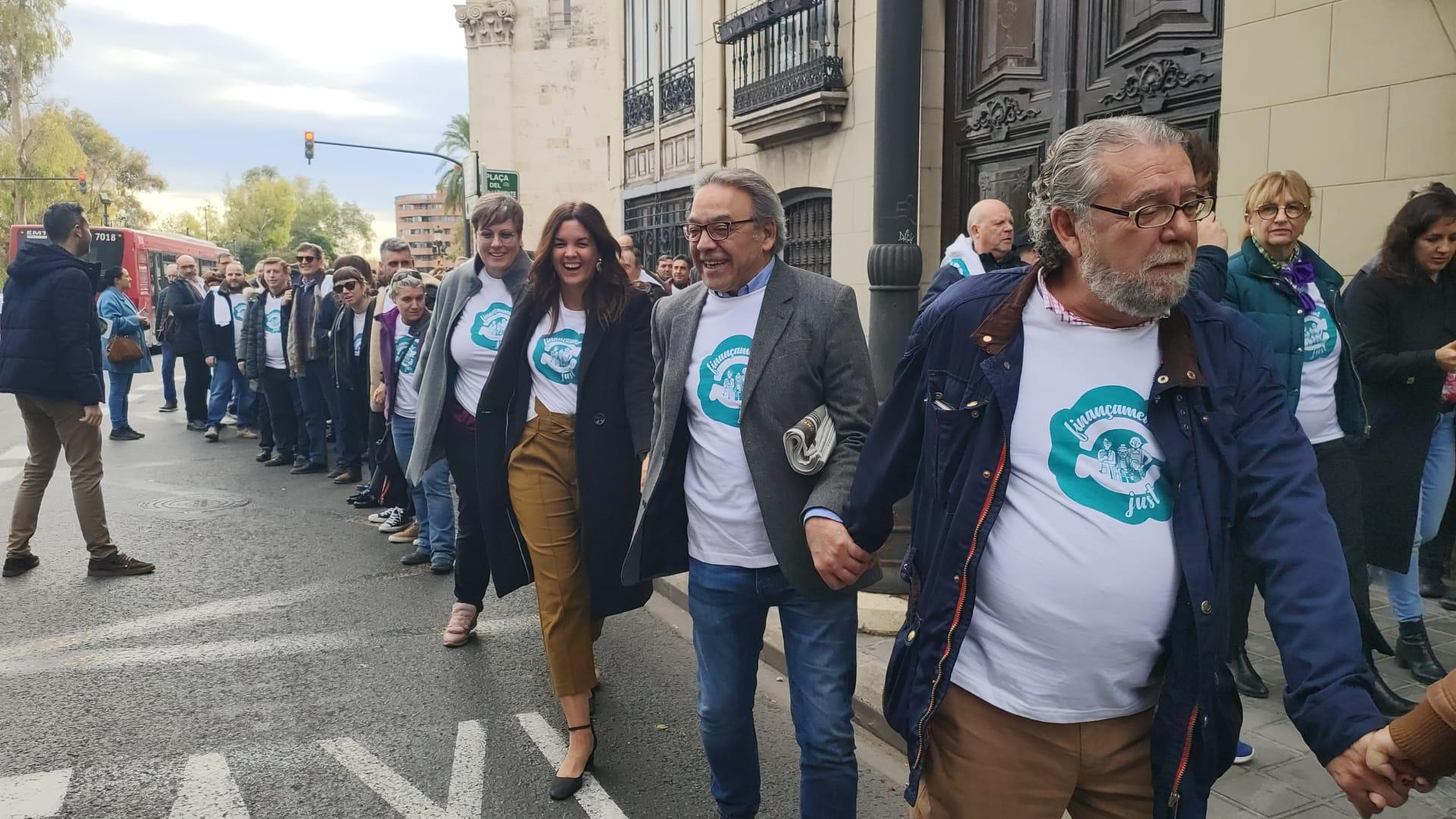 """Mata: """"Hem aconseguit trencar la cadena de la invisibilitat i que en la resta d'Espanya sàpien que en la Comunitat Valenciana estem infrafinançats"""""""