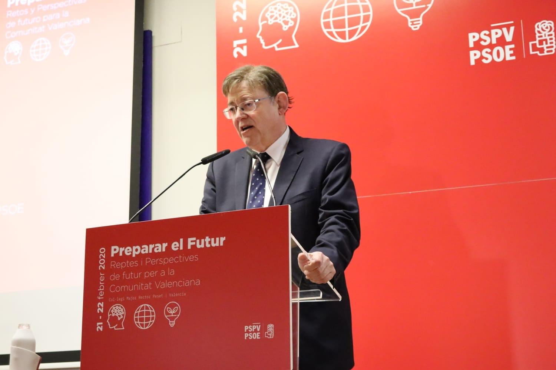 """Ximo Puig: """"Los socialistas valencianos tenemos que ser capaces de adaptarnos al momento actual y superar los retos del futuro"""""""