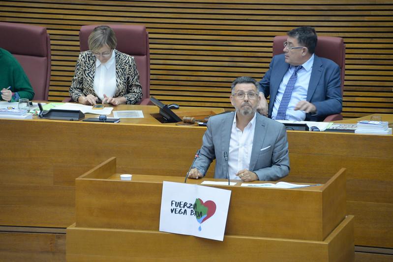 """Pineda: """"L'objectiu d'aquesta comissió és que la Vega Baixa no torne a patir mai les conseqüències de desastres climàtics com la DANA"""""""