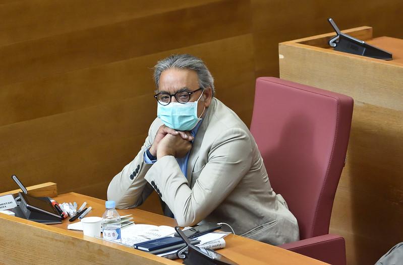 """Mata: """"No hay que hacer catastrofismo aunque sí existe preocupación; mañana en la conferencia de presidentes la Comunitat Valenciana será un ejemplo de buena gestión de la pandemia"""""""