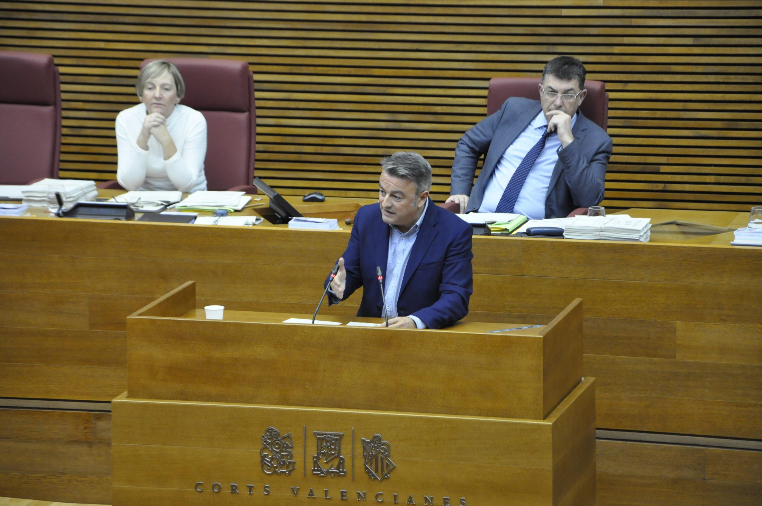 """You are currently viewing José Chulvi: """"El PP no té un projecte polític propi i centra els seus esforços a tractar de tirar per terra la gestió exemplar del Consell amb empresaris, pimes i autònoms durant la pandèmia"""""""