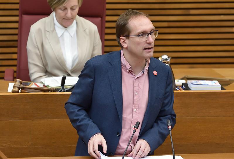 """El PSPV-PSOE demana en Les Corts que la Diputació d'Alacant abandone la seua posició """"discriminatòria cap als municipis alacantins"""" i es sume al Fons de Cooperació Municipal"""