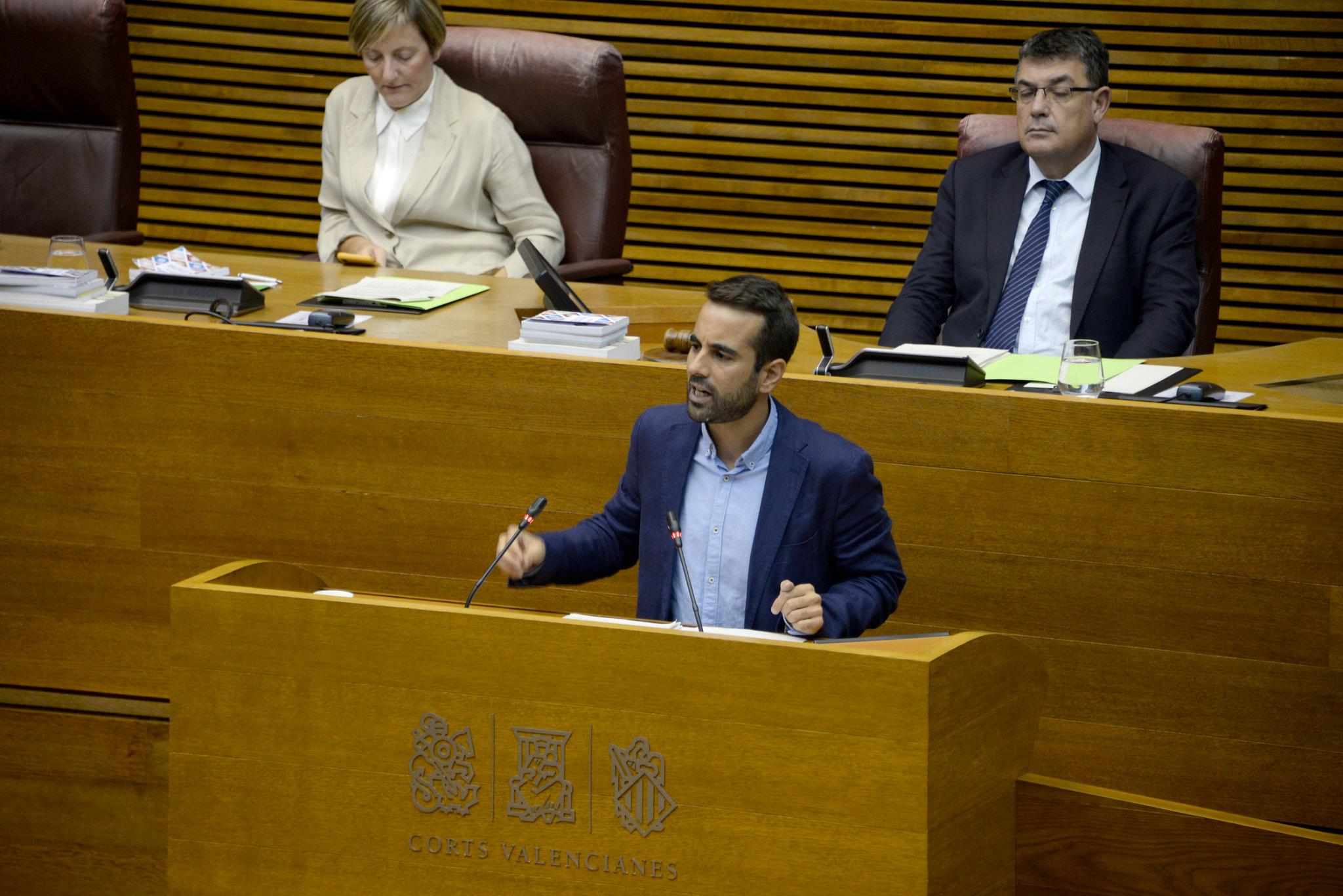 """Muñoz: """"Malgrat les traves del PP, amb el seu treball perquè la Comunitat dispose dels mateixos recursos el pròxim any els socialistes han demostrat el seu compromís amb un finançament just"""""""