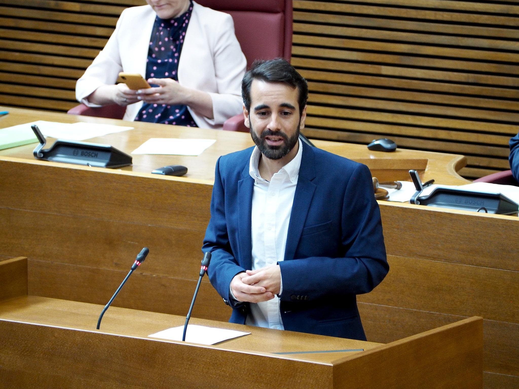 """You are currently viewing José Muñoz: """"Gràcies al Consell de Ximo Puig 1,6 milions de persones paguen 700 euros menys a l'any d'IRPF que amb el PP"""""""