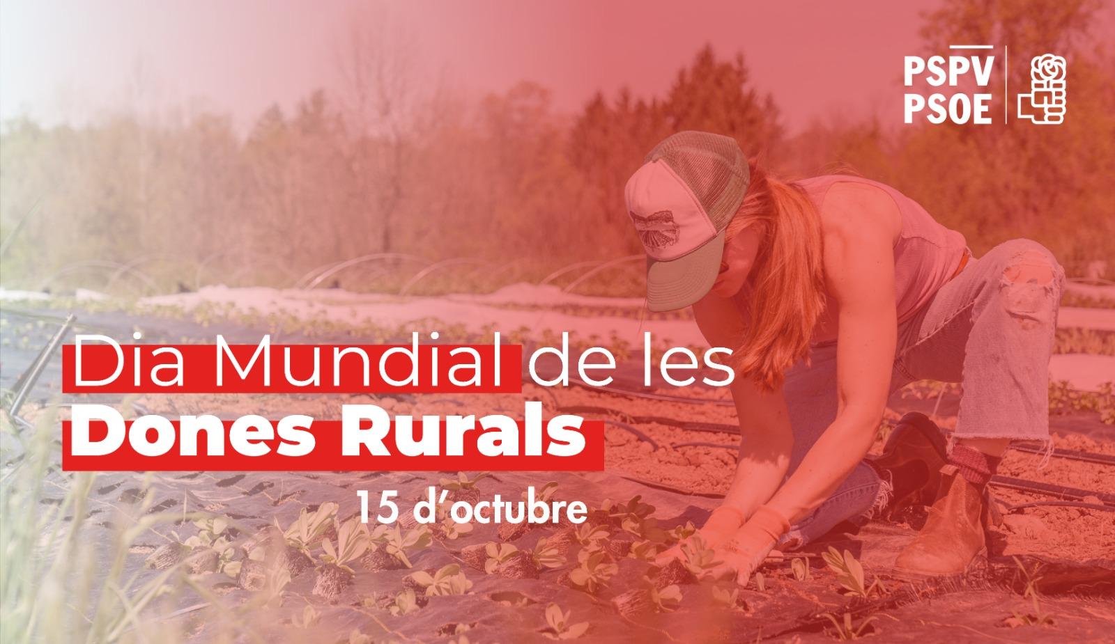 You are currently viewing El PSPV-PSOE planteja l'estatut de la Dona Rural per a avançar i garantir la igualtat en el sector agrari