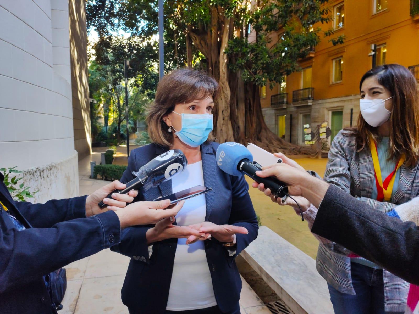 """Martínez recorda que  la Comunitat """"se situa a la cua en la incidència del virus"""" i tatxa de """"vomitiu"""" que aquestes dades """"molesten al Partit Popular"""""""
