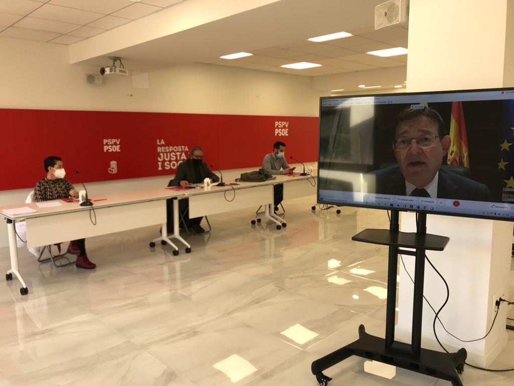 """You are currently viewing Ximo Puig demana un any nou """"ple de valors socialistes i on prevalga la màxima solidaritat"""""""
