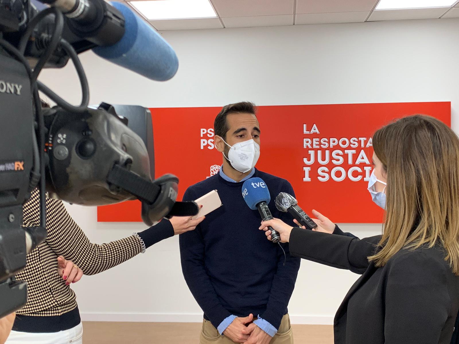 """Muñoz denuncia que Bonig estiga intentant """"tacar la imatge i la gestió del president Ximo Puig per a salvar-se dins del seu propi partit"""""""