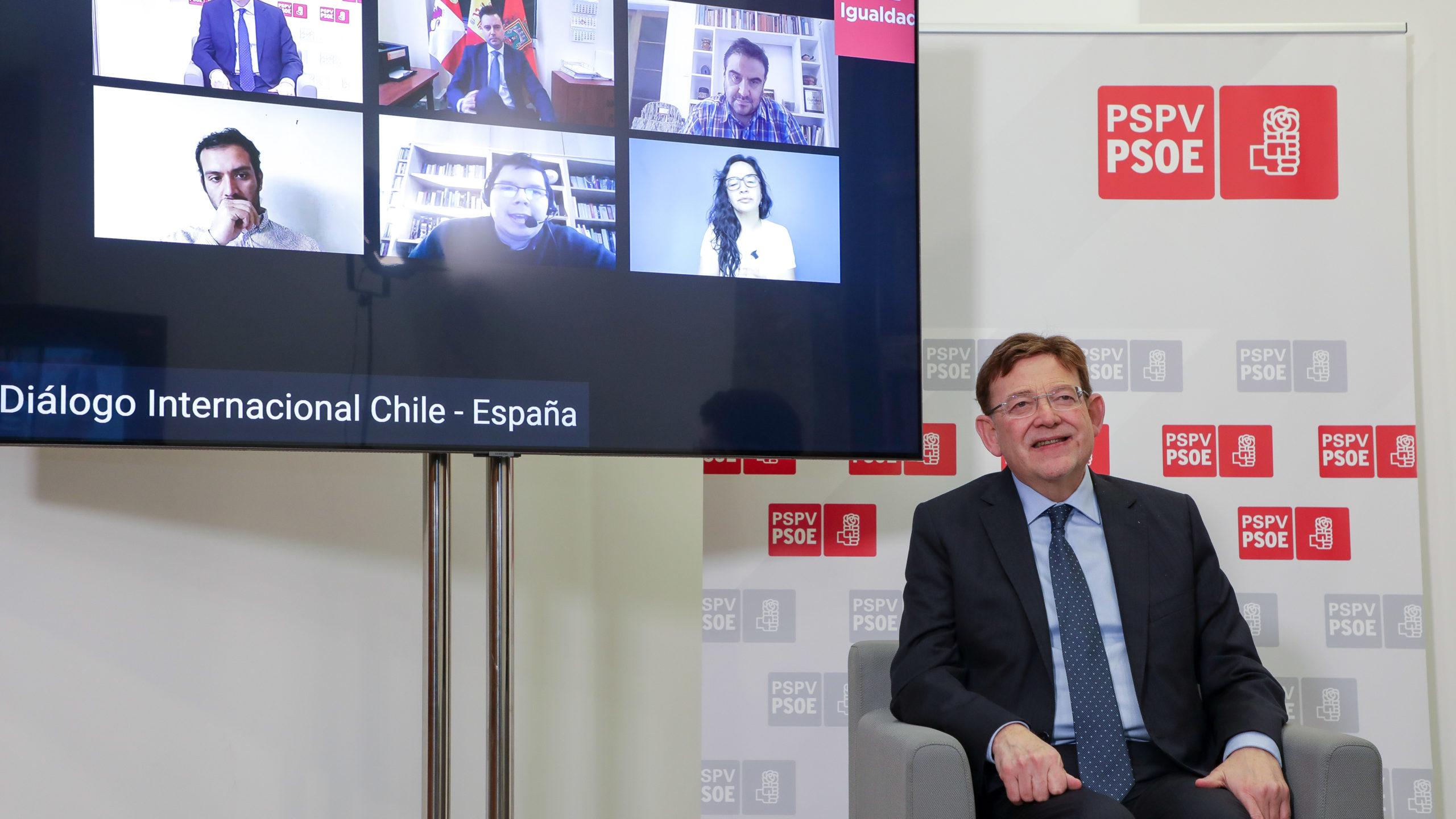 """You are currently viewing Ximo Puig: """"Un estado descentralizado avanza en democratización y permite más control y fiscalización"""""""