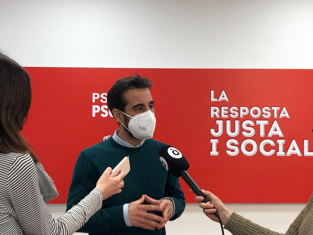 """Muñoz: """"Allí on no governa el PP, les ajudes a autònoms i pimes arriben"""""""