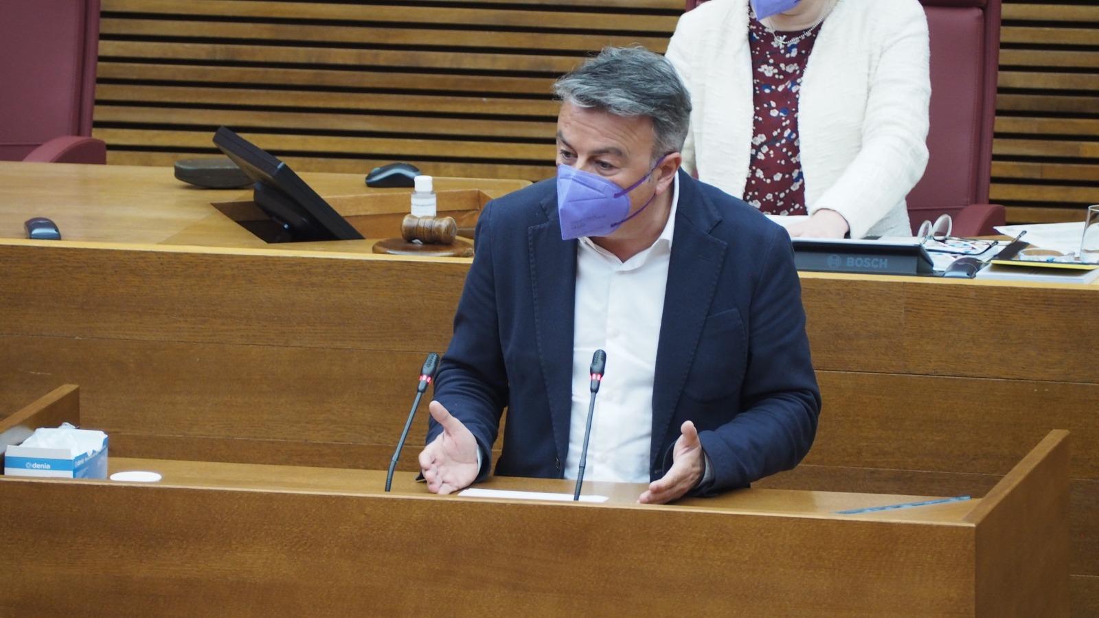 """Chulvi exigeix a Mazón que prenga mesures amb Bascuñana: """"Mantindre a qui s'aprofita dels diners de tots és premiar la corrupció"""""""