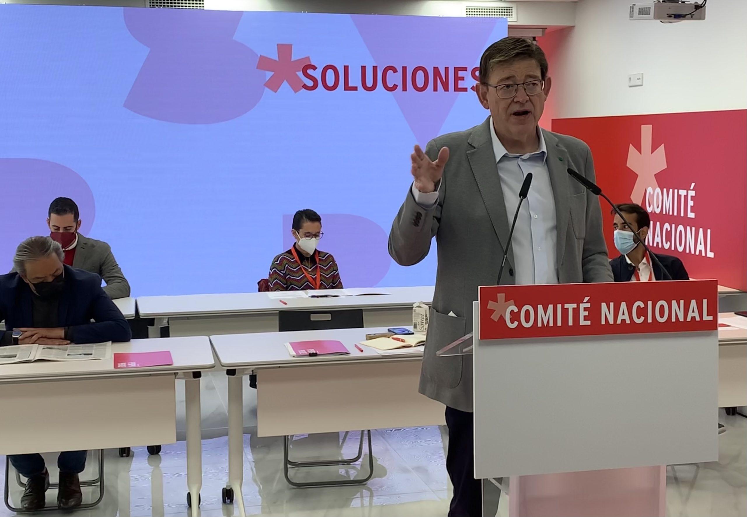 """Ximo Puig posa en valor el socialisme com a garantia de """"solucions, l'eficiència i el trellat"""" enfront de l'enfrontament i el soroll"""