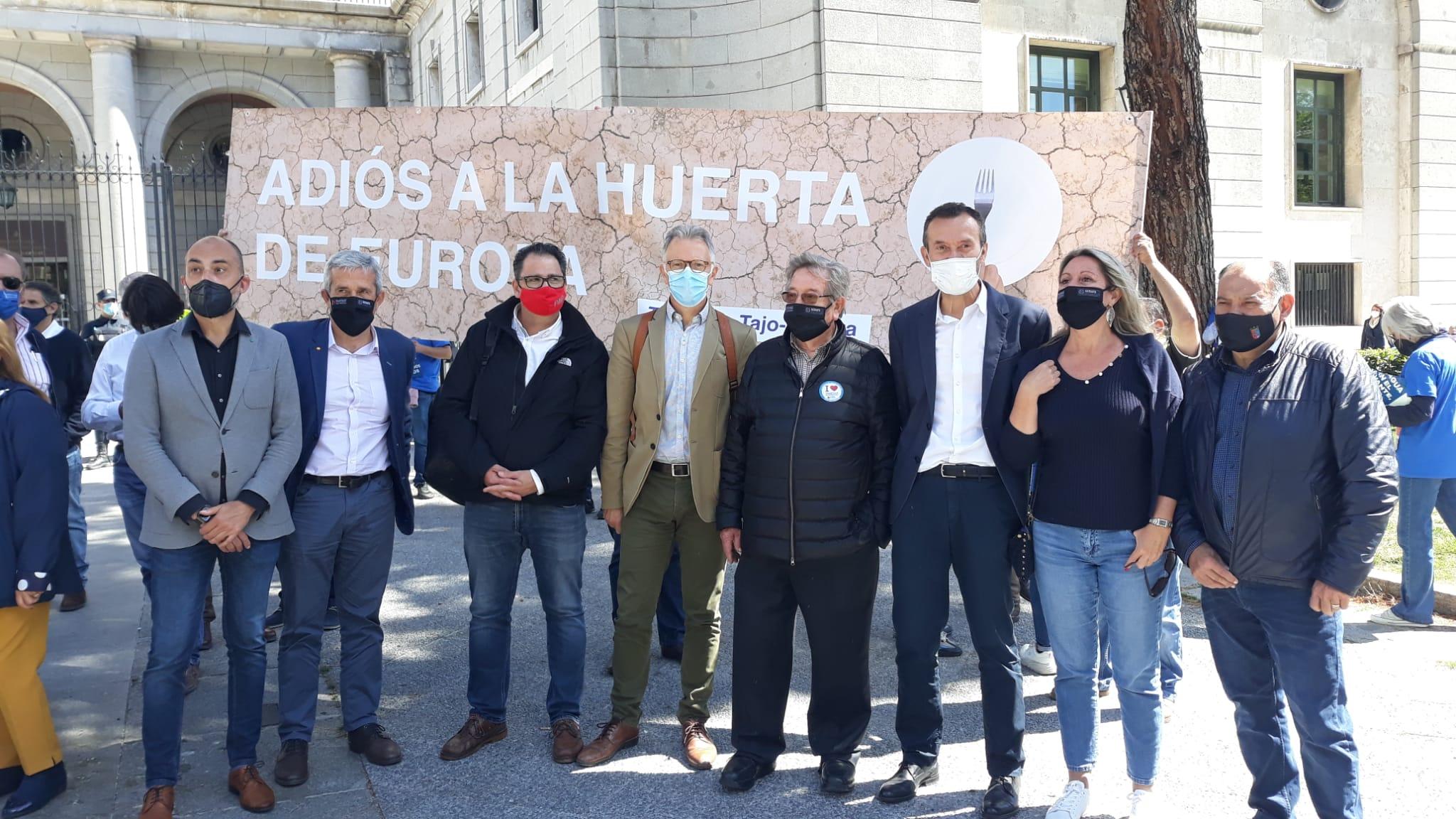 You are currently viewing El PSPV-PSOE recolza als regants i al Consell en el seu defensa del manteniment del transvasament Tajo-Segura