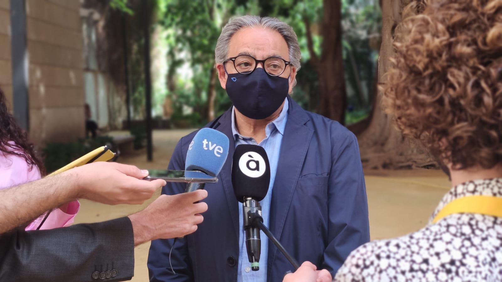"""You are currently viewing Mata posa en valor """"el diàleg i l'empatia"""" del president Ximo Puig davant la posició del PPCV de """"arraconar la democràcia"""""""