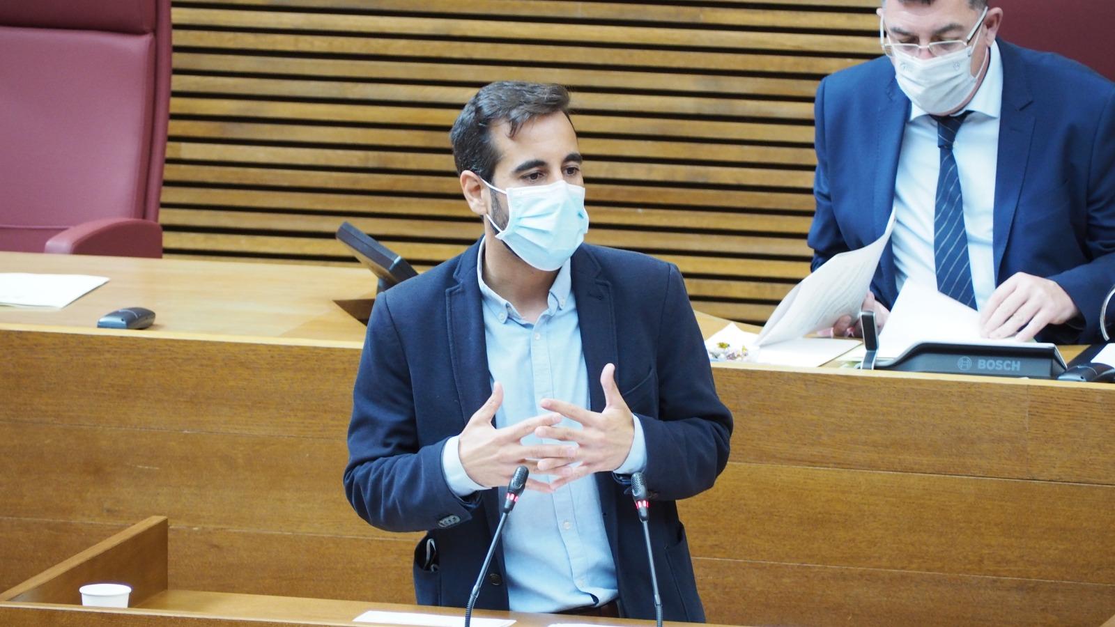 """You are currently viewing Muñoz exigeix al PP que explique que no donara suport a la suspensió de les regles fiscals: """"Pretenien ofegar als valencians amb més retallades"""""""