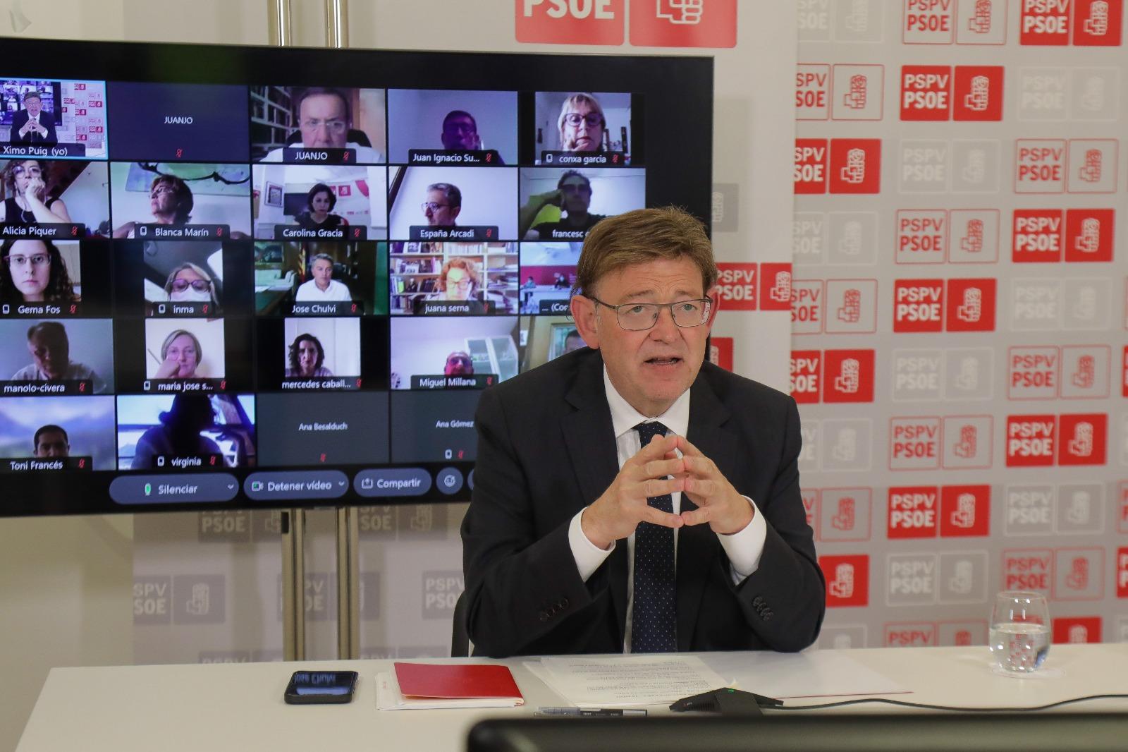 """You are currently viewing Ximo Puig: """"En la segona part de la legislatura hem de ser capaces de liderar el nou temps polític, econòmic i territorial"""""""