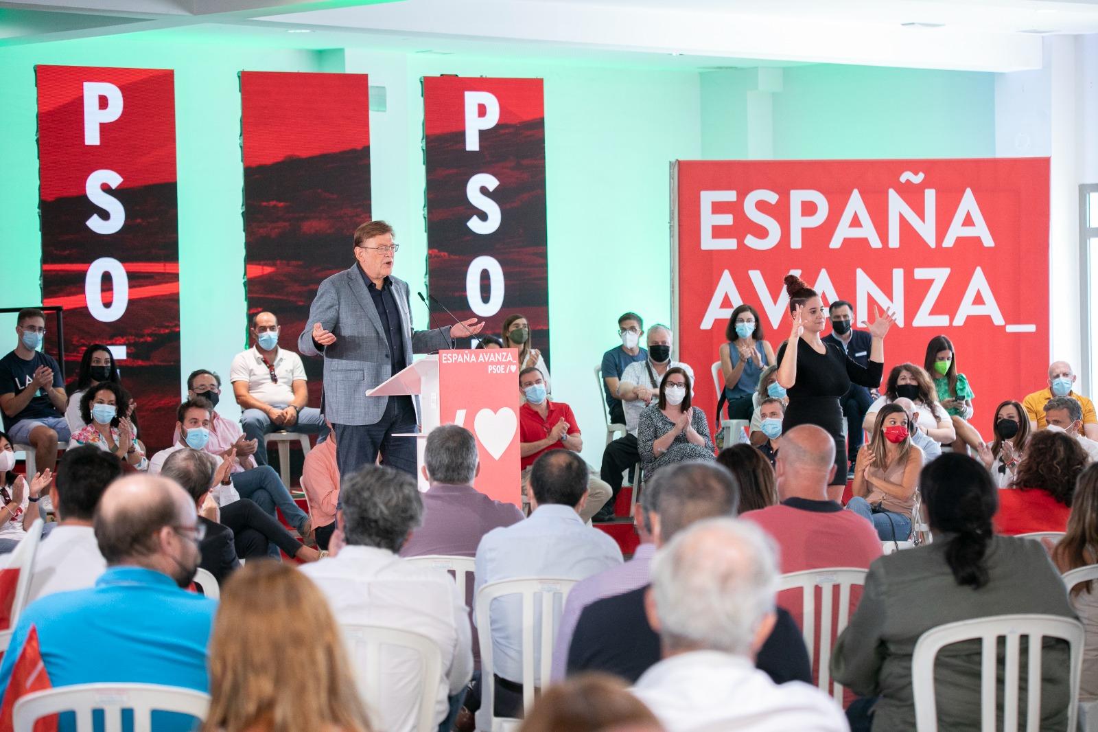 """You are currently viewing Ximo Puig: """"Els socialistes valencians posarem el millor escenari per al millor projecte"""""""