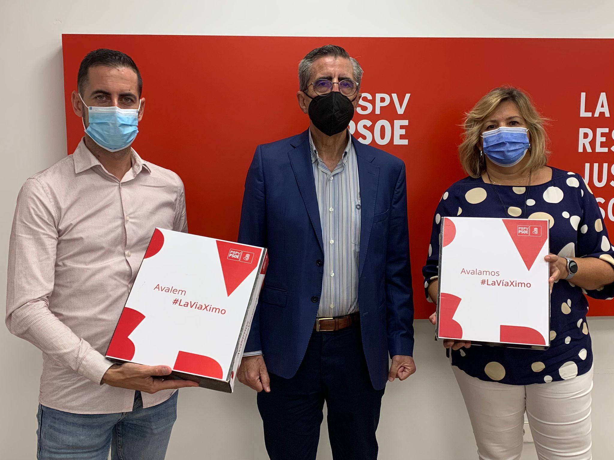 En este momento estás viendo Los representantes de Ximo Puig presentan el máximo de avales que le confirman como candidato único a la Secretaría General del PSPV-PSOE