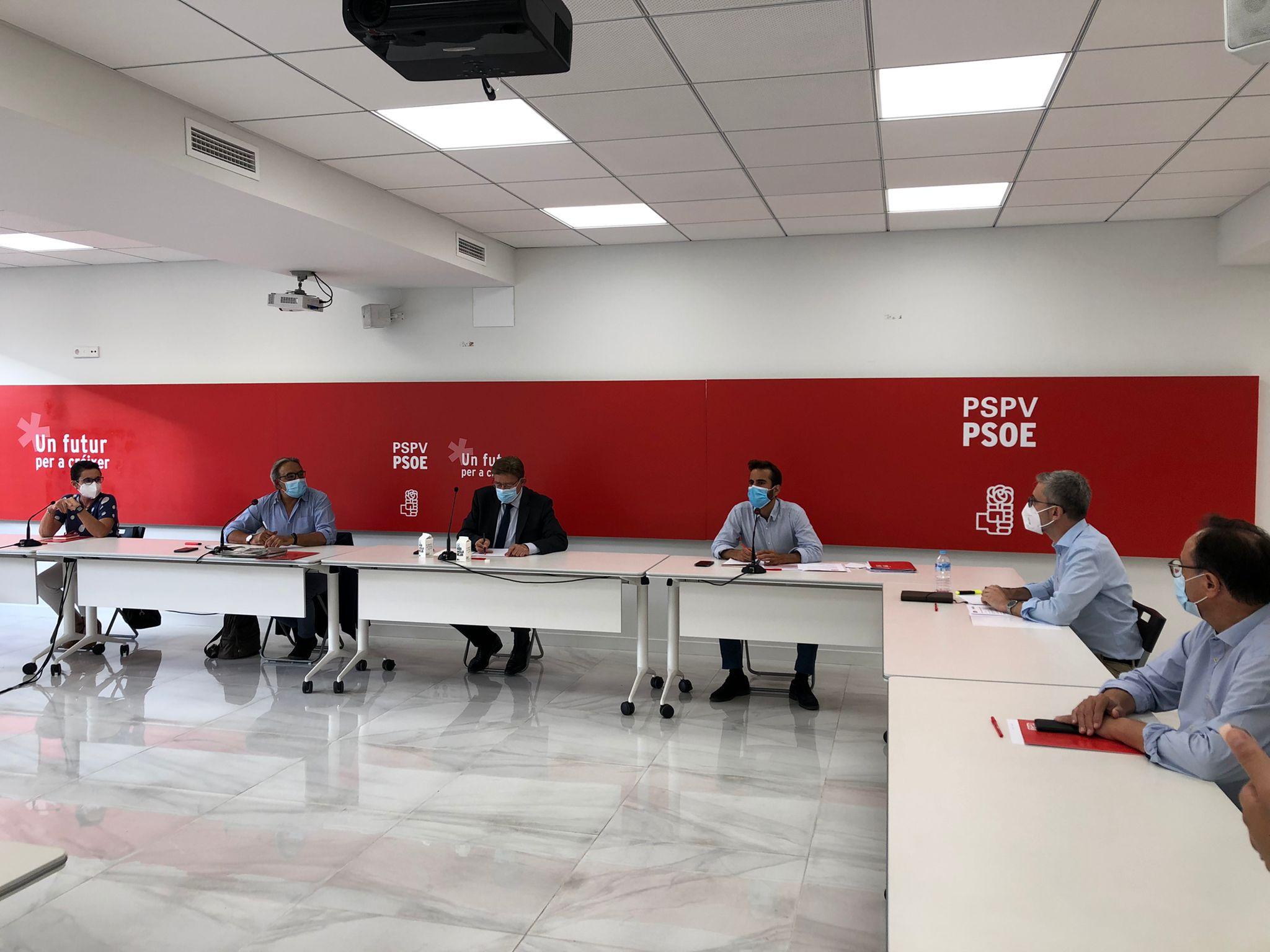 """En este momento estás viendo Ximo Puig: """"La propuesta política del 14 Congreso del PSPV-PSOE hablará de futuro, de convivencia, de crecimiento y de ocupación"""""""
