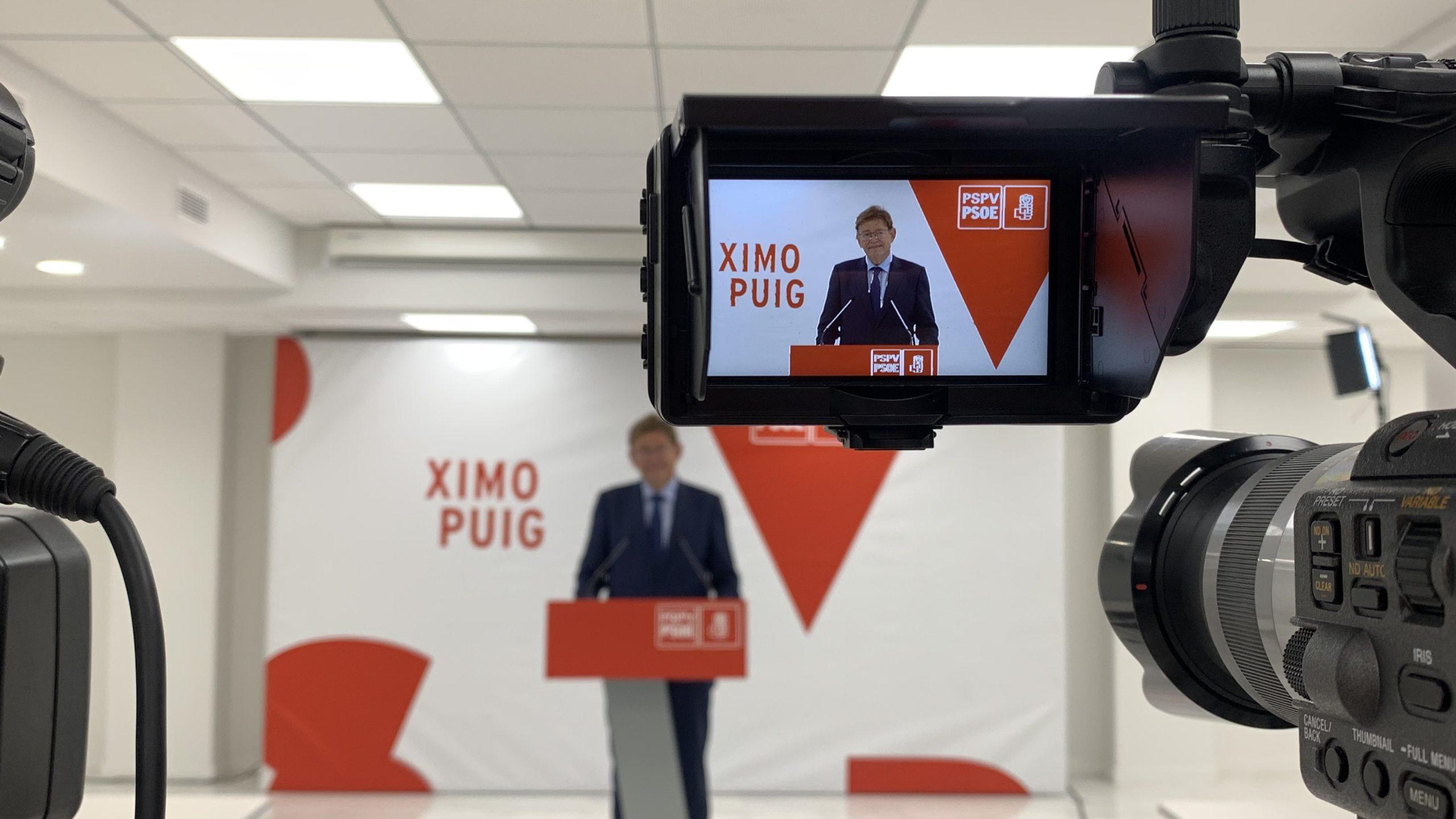 """En este momento estás viendo Ximo Puig: """"El PSPV-PSOE ha hecho ejercicio de responsabilidad que nos consolidará como primera fuerza política en la Comunitat Valenciana"""""""