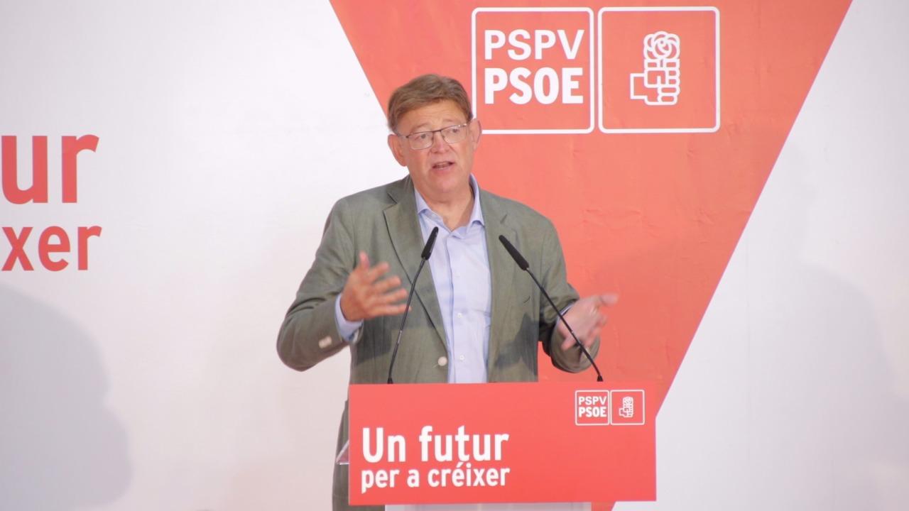 """You are currently viewing Ximo Puig: """"El PSPV-PSOE aporta una visió federal, descentralitzada, i capaç d'entendre l'Espanya de les Espanyes al socialisme espanyol"""""""